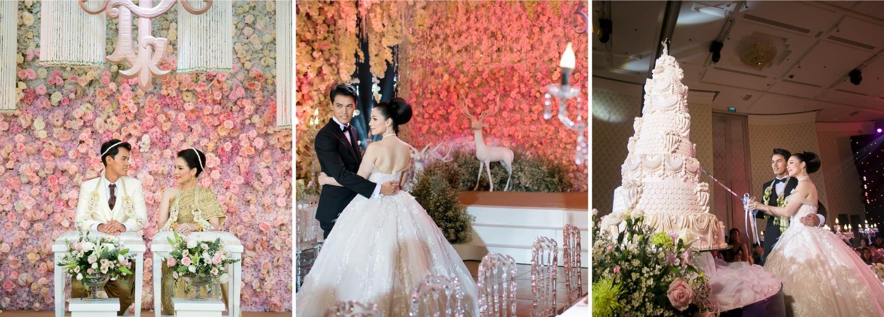 จัดงานแต่งงานในกรุงเทพ โรงแรมพูลแมน รางน้ำ